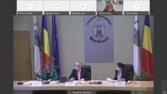 Ședința Consiliului General al Municipiului București din 27 aprilie 2021