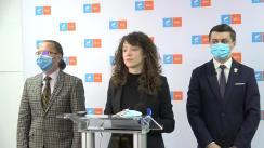 Conferință de presă organizată de USRPLUS Iași