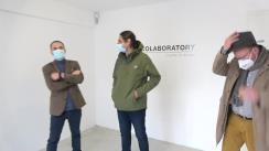 Vernisajul expoziției CoLaboratory, organizată de Centrul Cultural German Iași și Boderline Art Space