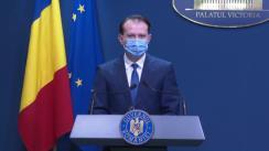Conferință de presă după ședința Guvernului României din 28 aprilie 2021