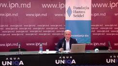 """Dezbaterea publică organizată de Agenția de presă IPN cu tema """"Despre starea de urgență în țară și la Curtea Constituțională: motive, actori, soluții"""""""