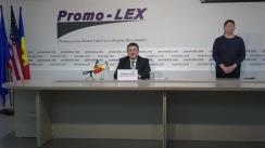 Conferința de presă organizată de Asociația Promo-LEX de lansare a Raportului nr. 1 privind Misiunea de Observare a Alegerilor parlamentare anticipate din 11 iulie 2021
