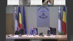 Ședința extraordinară a Consiliului General al Municipiului București din 7 mai 2021