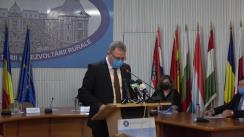Conferință de presă susținută de Ministrul Agriculturii din România, Adrian Oros, în vederea lansării Recensământului General Agricol – runda 2020