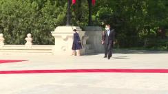 Ceremonia primirii oficiale a Președintelui Republicii Polone, Andrzej Duda, în România