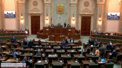 Ședința în plen a Senatului României din 10 mai 2021