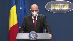 Conferință de presă după ședința Guvernului României din 10 mai 2021