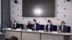Conferință de presă susținută de Ministrul Mediului, Apelor și Pădurilor din România, Barna Tánczos