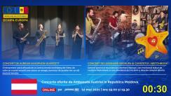 Zilele Europei 2021 / Concert al muzicianului de jazz Leonhard Skorupa împreună cu Sketchbook Quartett (oferit de Ambasada Austriei în Republica Moldova)