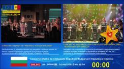 """Zilele Europei 2021 / Concertul """"Misterul vocilor bulgare"""" și concertul Ansamblului pentru cântece și dansuri tradiționale bulgare """"Rodoliubie"""" din Taraclia (oferit de Ambasada Bulgariei în Republica Moldova)"""
