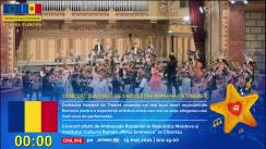 """Zilele Europei 2021 / Concert susținut de Orchestra Română de Tineret (oferit de Ambasada României în Republica Moldova și Institutul Cultural Român """"Mihai Eminescu"""" la Chișinău)"""