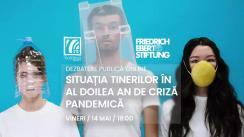 """Dezbaterea publică online organizată de Radio Moldova Tineret și Fundația Friedrich Ebert Stiftung Moldova cu tema """"Situația tinerilor în al doilea an de criză pandemică"""""""