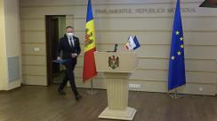 """Conferință de presă susținută de Grupul parlamentar """"PRO MOLDOVA"""" cu tema """"PRO normalitate, partid DE TREABĂ"""""""