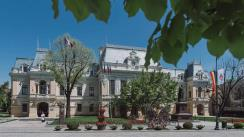 Declarație de presă susținută de primarul Mihai Chirica, după votarea bugetului Iașului, în Consiliul Local