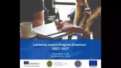 Prezentarea Programului Erasmus+ 2021-2027 în Republica Moldova