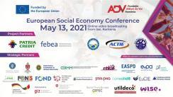 """Conferința europeană dedicată economiei sociale """"Enterprising for tomorrow — Social entrepreneurship & youth engagement"""" organizată de Fundația """"Alături de Voi"""" România"""