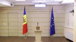 Briefing de presă al deputatului Igor Grosu, Fracțiunea PAS, Blocul ACUM