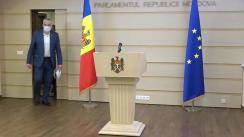 Briefing de presă al deputaților Alexandru Slusari și Vasile-Andrei Năstase, Fracțiunea ACUM Platforma DA, cu privire la activitatea Agenției Servicii Publice