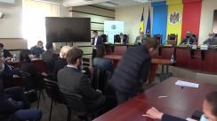 Tragerea la sorți la Comisia Electorală Centrală pentru stabilirea ordinii de înscriere a concurenților electorali în buletinul de vot pentru alegerile parlamentare din 11 iulie 2021