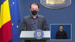Declarații de presă după ședința Guvernului României din 14 mai 2021