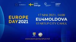 """Evenimentul """"EU Day 2021: Startup City Cahul"""""""