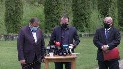 Declarații de presă susținute de prim-ministrul României, Florin Cîțu, după întâlnirea cu reprezentanții HORECA