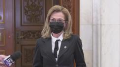 Declarație de presă susținută de senatoarea PSD, Laura Georgescu