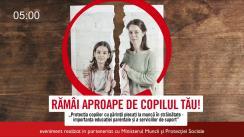 """Conferința """"Protecția copiilor cu părinții plecați la muncă în străinătate - importanța educației parentale și a serviciilor de suport"""", organizată de """"Salvați Copiii"""", în parteneriat cu Ministerul Muncii și Protecției Sociale"""