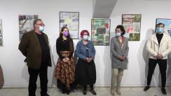 """""""Botanical visions"""" - expoziție de artă vizuală, în cadrul Casei de Cultură a Municipiului Iași """"Mihai Ursachi"""". Expun studenți de la U.N.A.G.E"""