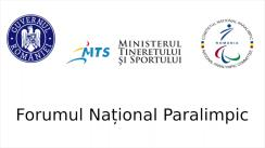 Forumul Național Paralimpic, prima ediție