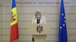 """Briefing de presă susțsinut de către deputatul Platformei parlamentare """"Pentru Moldova"""", Ruxanda Glavan"""