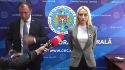 """Declarații după înregistrarea candidaților la funcția de deputat în Parlamentul Republicii Moldova din partea Partidului Politic """"Șor"""""""