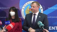 Declarații după înregistrarea candidaților la funcția de deputat în Parlamentul Republicii Moldova din partea Partidului Acasă Construim Europa