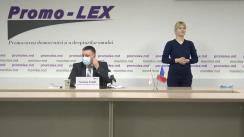 Conferința de presă organizată de Asociația Promo-LEX de lansare a Raportului nr. 2 privind Misiunea de Observare a Alegerilor parlamentare anticipate din 11 iulie 2021