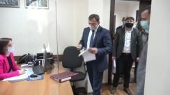 Depunerea documentelor la Comisia Electorală Centrală pentru înregistrare la alegerile parlamentare a Partidului Platforma Demnitate și Adevăr
