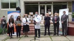 Evenimentul de donație de echipamente către Rețeaua Cabinetelor de Sănătate Reproductivă