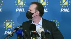 Declarație de presă susținută de Prim-ministrul României, Florin Cîțu