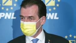 Declarație de presă susținută de Președintele Camerei Deputaților, Ludovic Orban