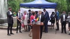"""Lansarea campaniei de colectare de semnături în susținerea Planului de țară """"MOLDOVA ALTFEL"""""""