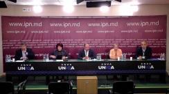 """Conferință de presă cu tema """"CALM vine cu un apel către concurenții electorali – descentralizarea și autonomia locală trebuie să devină o prioritate a tuturor!"""""""