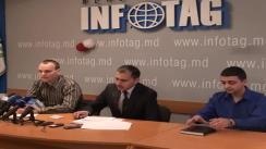 """Conferința de presă """"Cu privire la plângerea adresată Procuraturii Generale de către doi cetățeni ai Republicii Moldova, care consideră că manualele de istorie reflectă eronat evenimentele"""""""