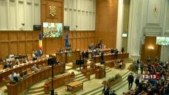 Ședința comună a Camerei Deputaților și Senatului României din 26 mai 2021