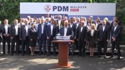 Lansarea în campania electorală pentru alegerile parlamentare anticipate din 11 iulie 2021 a Partidului Democrat din Moldova