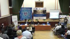 """Conferința de lansare a proiectului cu titlul """"ADSE – A Doua Șansă Pentru Educație"""" și a campaniei de promovare a programului """"A Doua Șansă"""""""