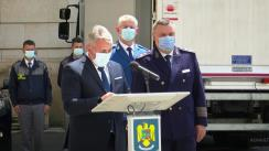 Declarație de presă susținută de Ministrul Afacerilor Interne din România, Lucian Bode