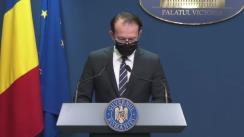 Conferință de presă după ședința Guvernului României din 27 mai 2021