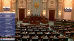 Ședința în plen a Senatului României din 2 iunie 2021