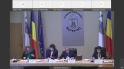 Ședința ordinară a Consiliului General al Municipiului București din 2 iunie 2021