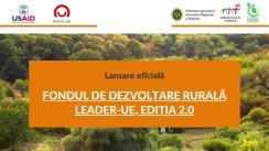 Ceremonia de Semnare a Contractelor de finanțare Fondul de Dezvoltare Rurală LEADER-UE, ediția 2.0 (2021)