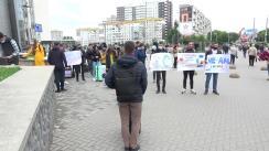 """Flashmob organizat de PAS Youth cu tema """"Venim acasă. Pornim vremurile bune!"""""""